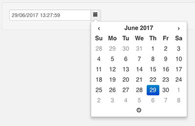 date resize