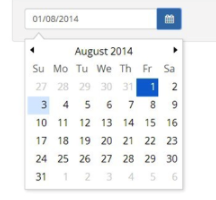 Egy hónapos - http://bootstrap-datepicker.readthedocs.io/en/latest/