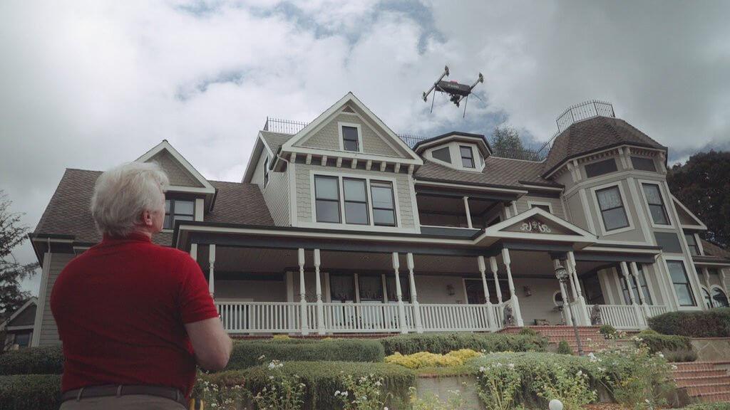 A drónok információkat gyűjtenek az ingatlanokról